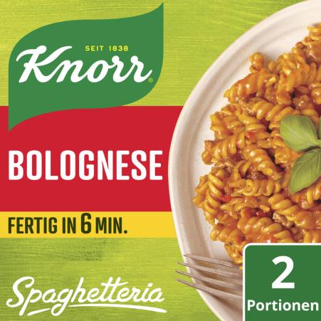 Knorr Spaghetteria Bolognese Fertiggericht