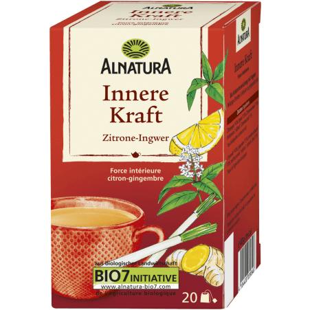 Alnatura Bio Innere Kraft Tee Zitrone-Ingwer
