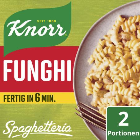 Knorr Spaghetteria Funghi Fertiggericht