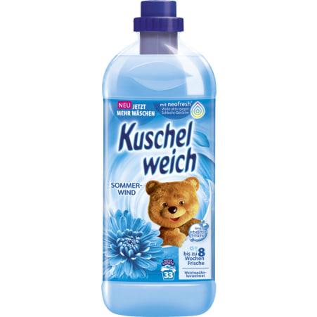 KUSCHELWEICH Weichspüler Sommerwind 34 Waschgänge