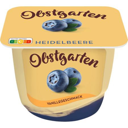 Danone Obstgarten Vanillegenuss Heidelbeere