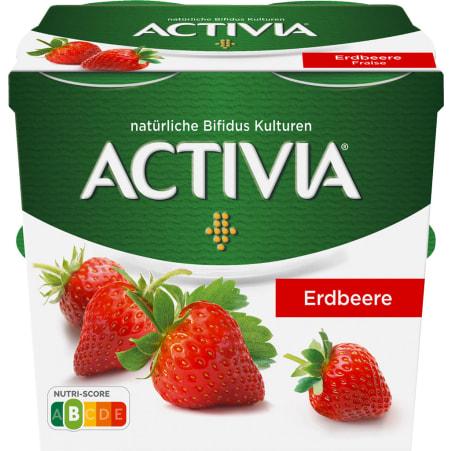 Danone Activia Erdbeere 4er-Packung