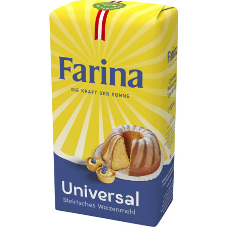 Farina Weizenmehl Type 480 universal 1 kg