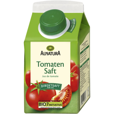 Alnatura Bio Tomatensaft mit Meersalz 0,5 Liter
