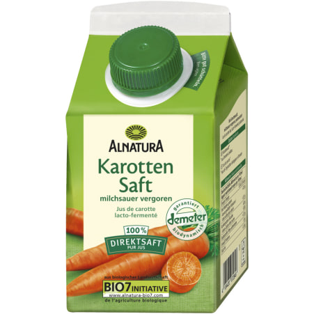 Alnatura Bio Karottensaft milchsauer vergoren
