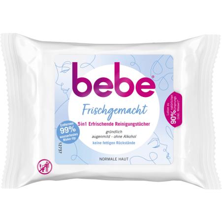 BEBE 5 in 1 Reinigungstücher erfrischend
