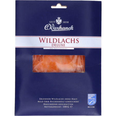 Warhanek Wildlachs Deluxe Sockeye MSC