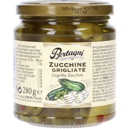 Bertagni Zucchini gegrillt