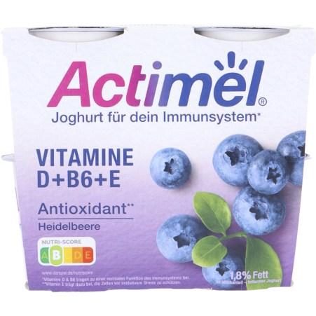 Danone Actimel Joghurt Heidelbeere