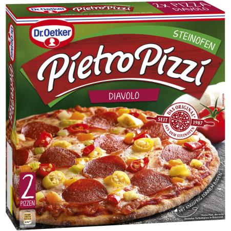 Dr. Oetker Pietro Pizzi Diavolo 2er-Packung