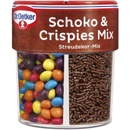 Dr. Oetker Streudekor Schoko & Crispies Mix