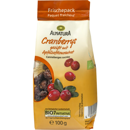 Alnatura Bio Cranberrys gesüßt