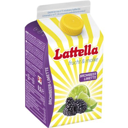 Lattella Brombeer-Limette 0,5 Liter