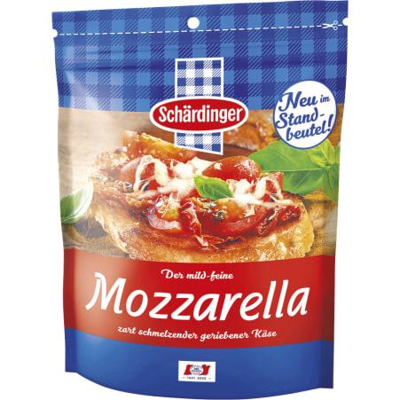 Schärdinger Mozzarella gerieben