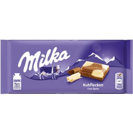 MILKA Schokolade Kuhflecken
