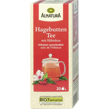 Alnatura Bio Hagebutten Tee mit Hibiskus