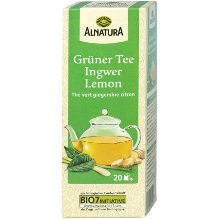 Alnatura Bio Grüntee Ingwer-Lemon