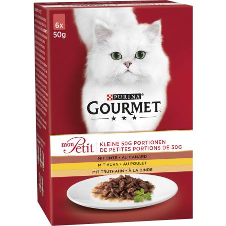 PURINA Gourmet mon Petit Huhn 6x 50 gr