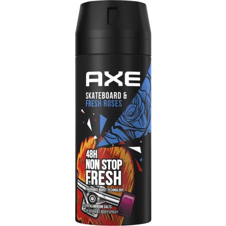 Axe Skateboard & Fresh Rose Deo-Spray