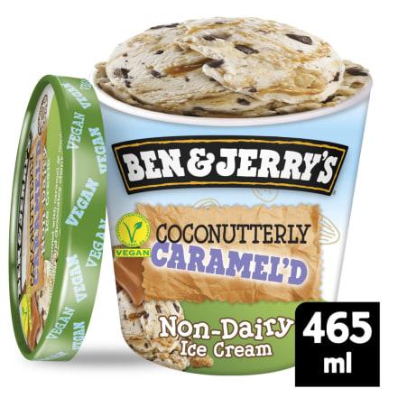 Ben & Jerry's Coconutterly Caramel Non Dairy vegan