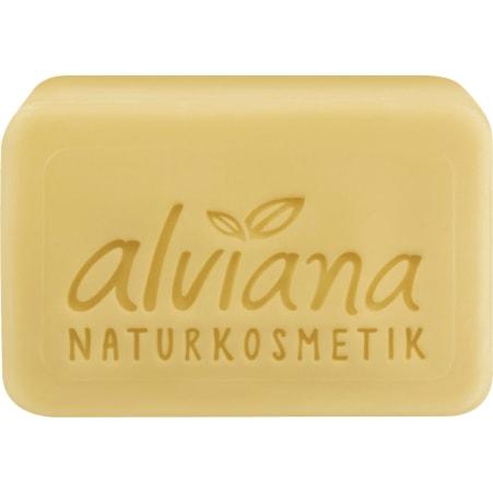 alviana Honig & Milch Pflanzenöl Seife