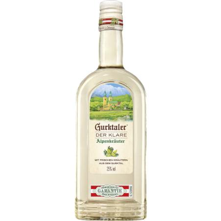 Gurktaler Alpenkräuter klar 25% 1,0 Liter