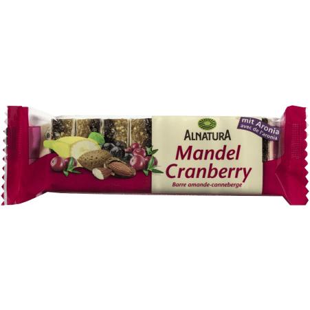 Alnatura Bio Mandel Cranberry Fruchtschnitte