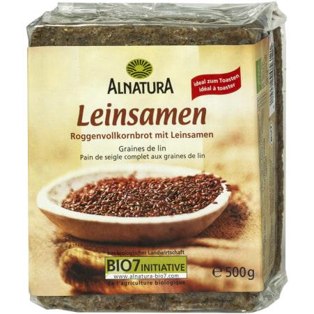 Alnatura Bio Leinsamen Brot