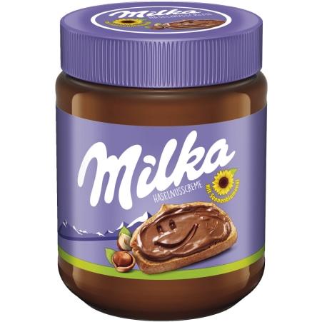 MILKA Schokoladenaufstrich Haselnuss