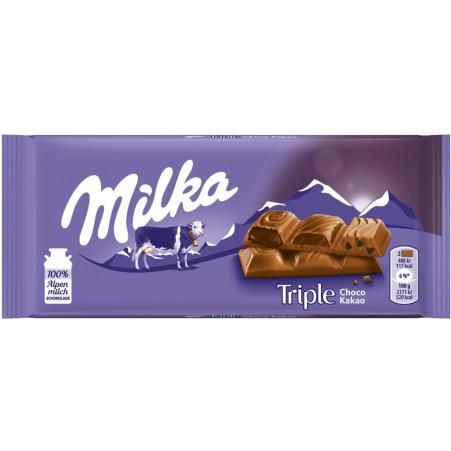 MILKA Schokolade Triple Chocolate