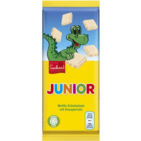 SUCHARD Schokolade Junior Weiß