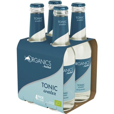 Red Bull Bio Organics Tonic Water Tray 4x 0,25 Liter Glas