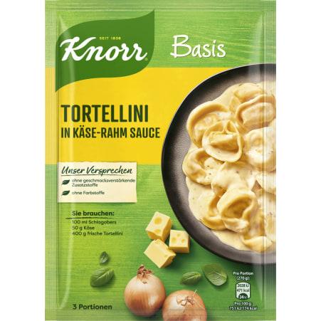 Knorr Basis Tortellini in Käse-Rahm Sauce