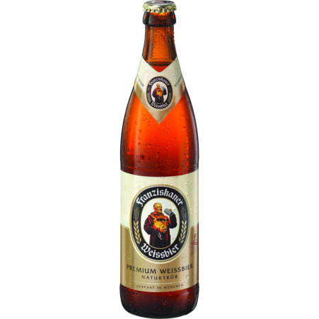 Franziskaner Hefehell 0,5 Liter Mehrweg-Flasche