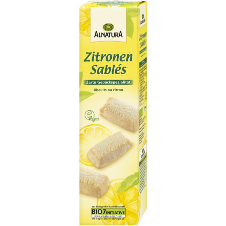 Alnatura Bio Zitronen Sablés