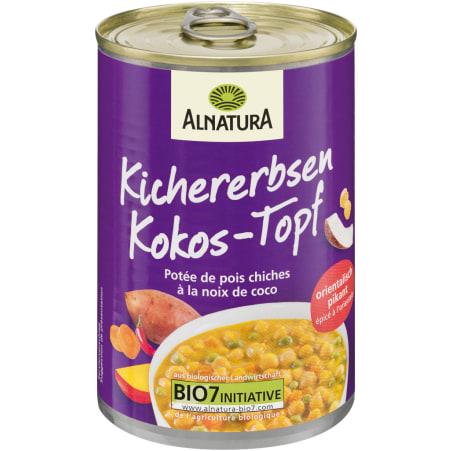 Alnatura Bio Kichererbsen-Kokos-Eintopf