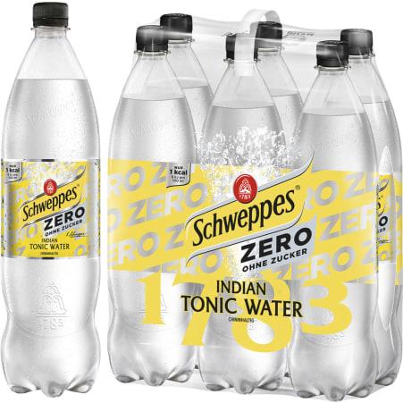 Schweppes Indian Tonic Water Zero 1,25 Liter