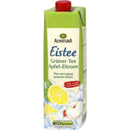Alnatura Bio Grüner Tee Zitrone 1,0 Liter