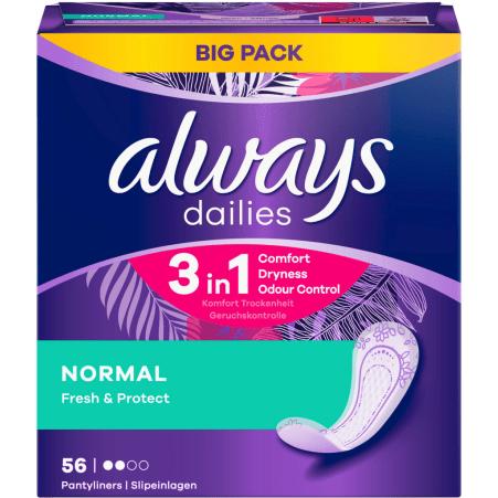 Always Alldays Slipeinlage Normal 56er-Packung