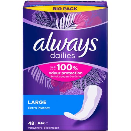 Always Alldays Slipeinlage Large 48er-Packung