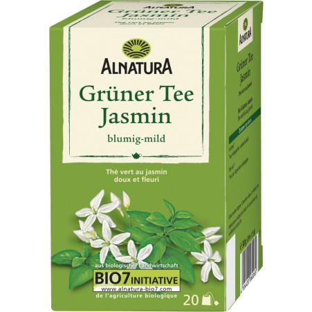 Alnatura Bio Grüner Tee Jasmin