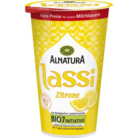Alnatura Bio Zitronen Lassi Joghurtgetränk