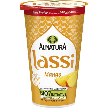Alnatura Bio Lassi Joghurt Mango