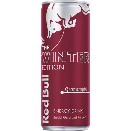 Red Bull The Winter Edition Granatapfel 0,25 Liter