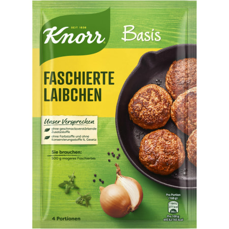 Knorr Basis Faschierte Laibchen