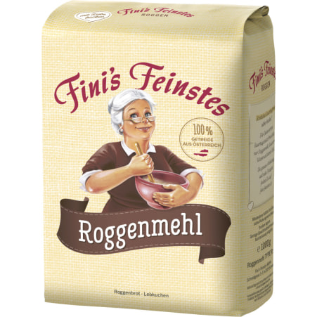 Fini´s Feinstes Roggenmehl Type 960