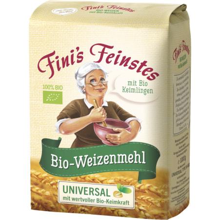 Fini´s Feinstes Weizenmehl mit wertvoller Keimkraft Type 480