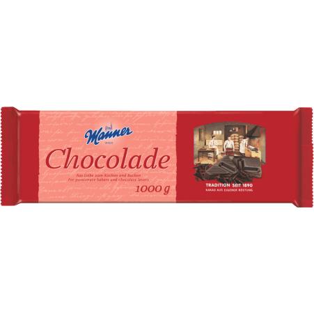 Manner Haushalt-Schokolade
