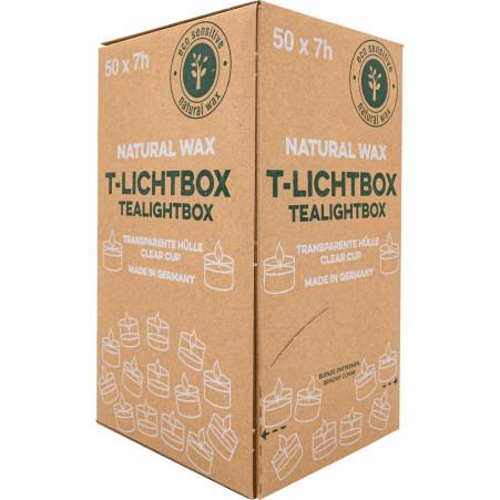 Nature Wax Spenderbox Teelicht 7 h