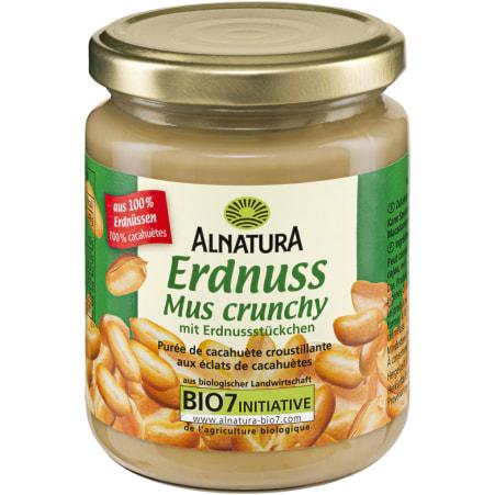 Alnatura Erdnussmus crunchy